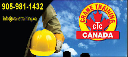 All training programs on this site are proprietory. Duplication of any content is forbidden - Crane Training Canada