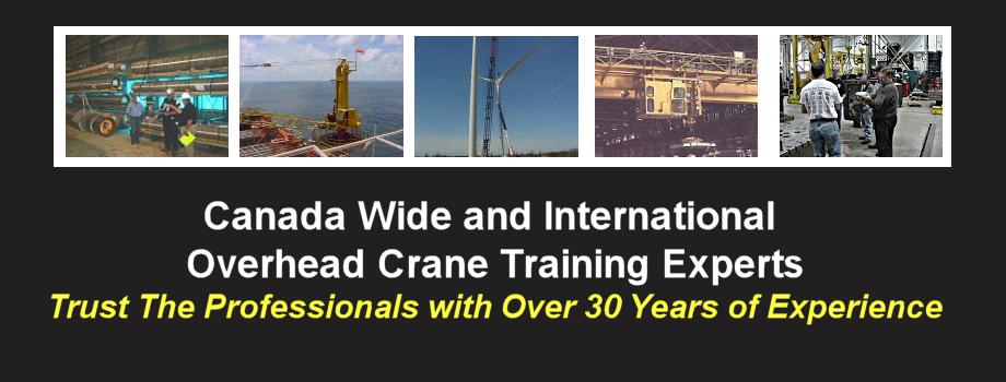 Overhead Crane Newfoundland : Slider crane training canada